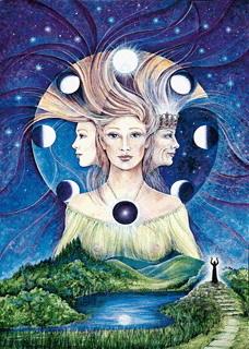 luna diosas